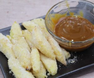 Air Fryer Fried Apple Fries
