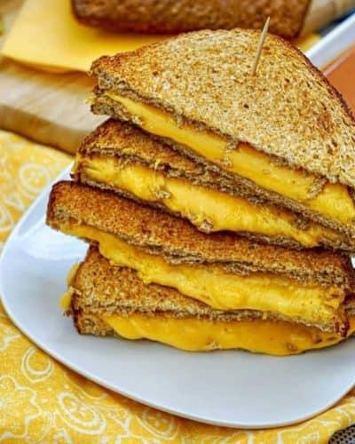 Air Fryer Weight Watcher Grilled Cheese
