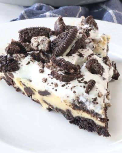 Air Fryer Oreo Cheesecake