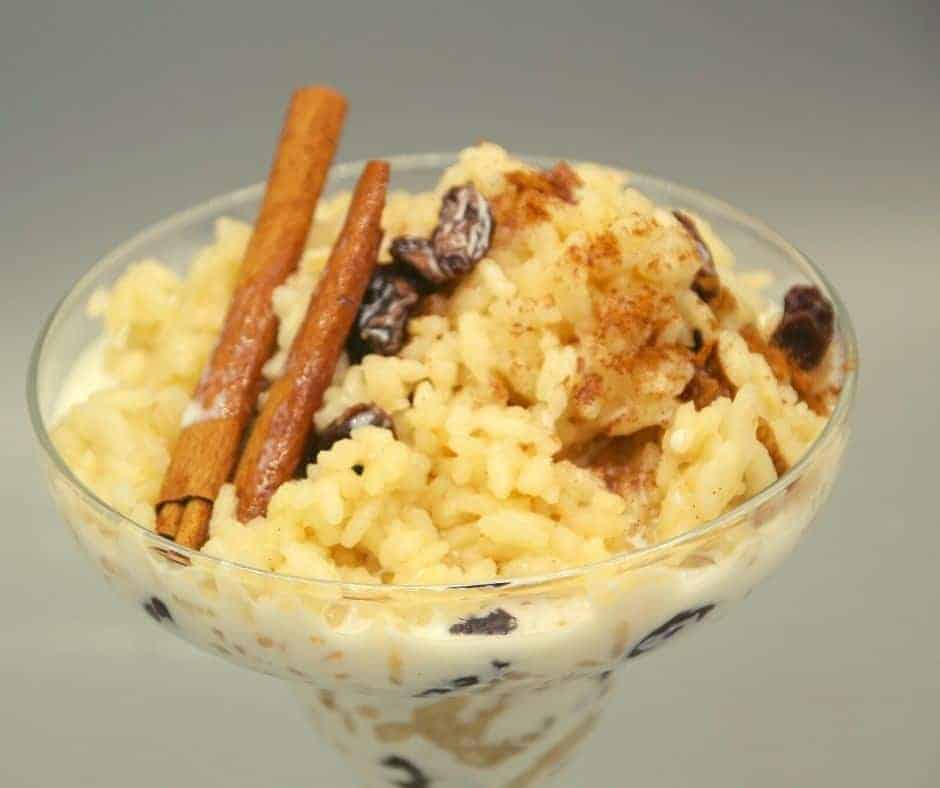 Ninja Foodi Rum Raisin Rice Pudding