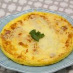 Air Fryer Ham And Cheese Omelette