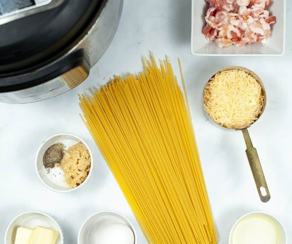 Ingredients For Instant Pot Carbonara