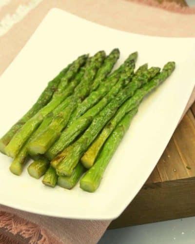 Air Fryer Frozen Asparagus