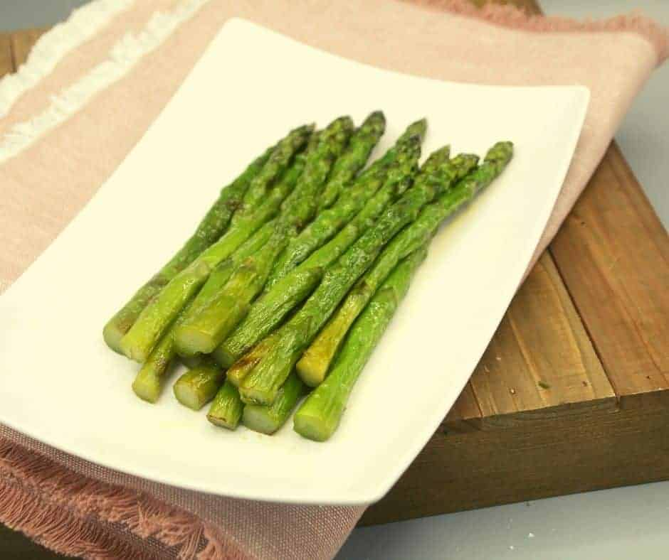 Air Fryer Frozen Asparagus
