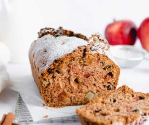 Air Fryer Apple Cranberry Bread