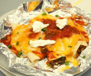 Air Fryer Turkey Enchiladas