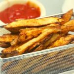 Air Fryer Spicy French Fries
