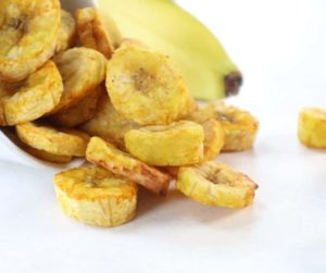 Air Fryer Banana Chips