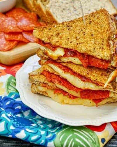 Air Fryer Pizza Sandwiches
