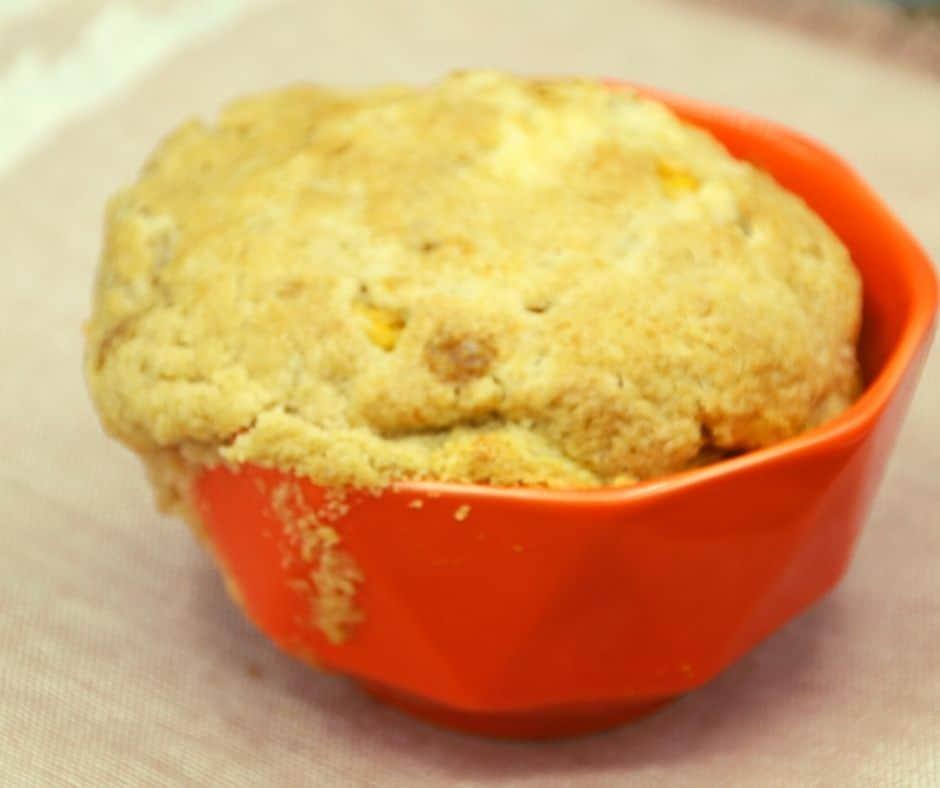 Air Fryer Mug Pumpkin Coffee Cake