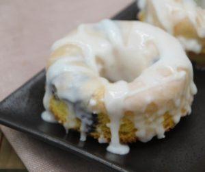 Air Fryer Blueberry Lemon Donuts