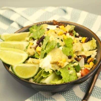 Air Fryer Beef Taco Salad