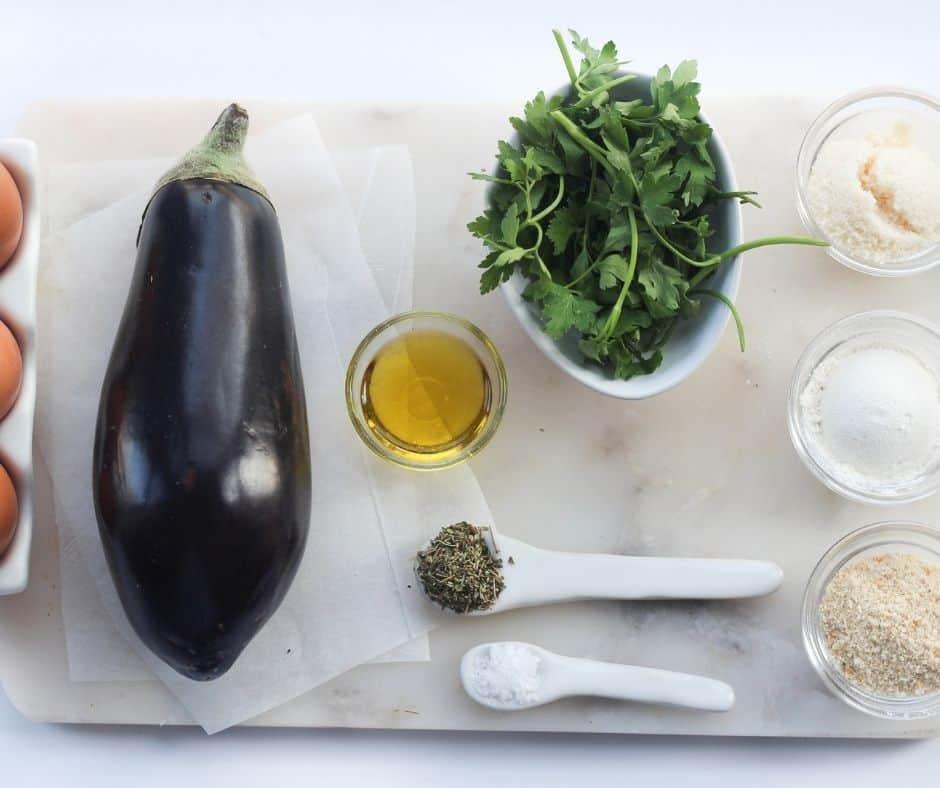 Air Fryer Breaded Eggplant
