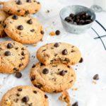 Air Fryer Copycat Doubletree Cookies