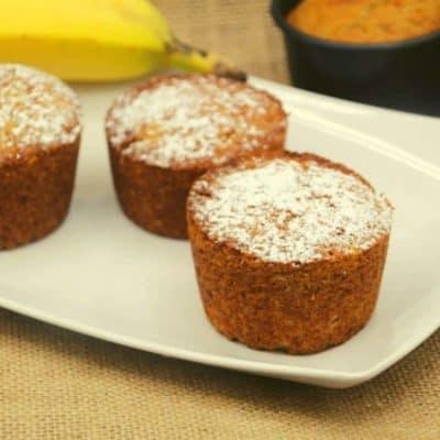 Air Fryer Trader Joe's Banana Bread Muffins