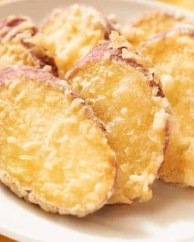 Air Fryer Sweet Potato Tempura