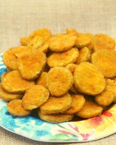 Air Fryer Frozen Pickles