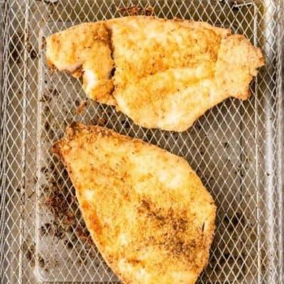 Air Fryer Flounder Fish