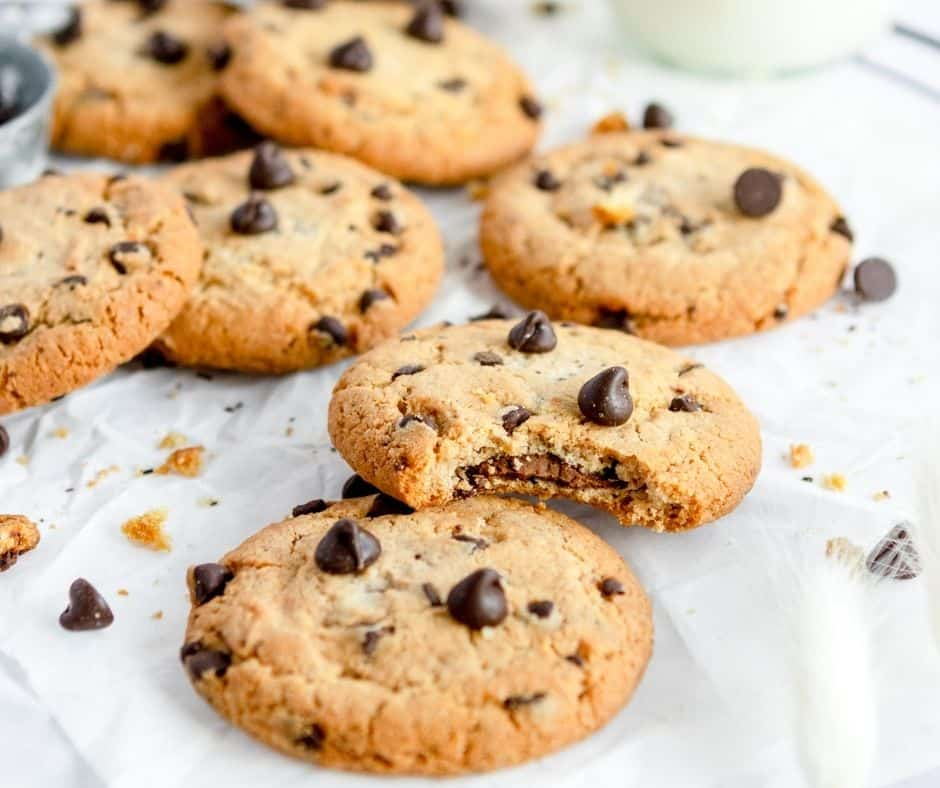 Air Fryer Doubletree Chocolate Chip Cookies