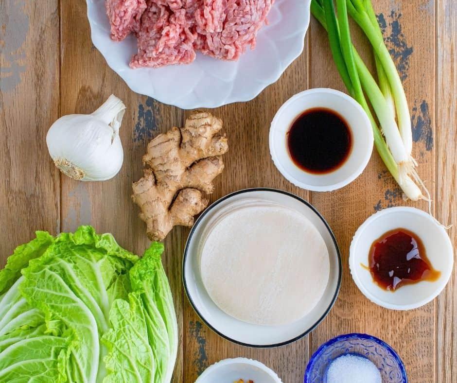 Ingredients In Dumplings