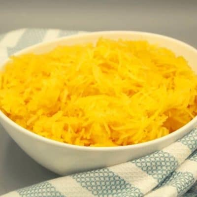 Ninja Foodi Spaghetti Squash