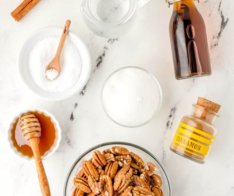 Ingredients Needed For Candied Pecans