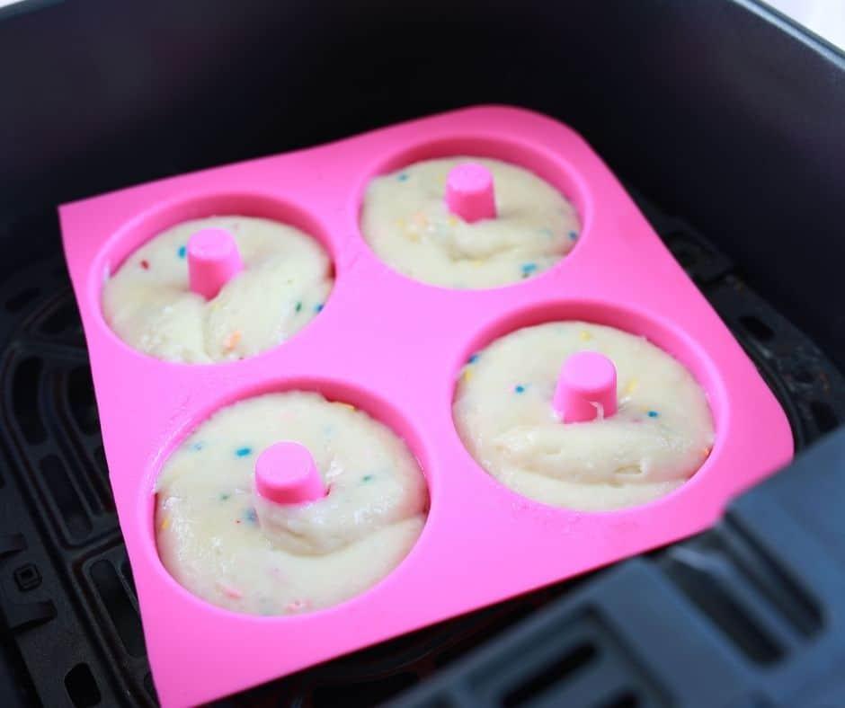 Donut Pan in Air Fryer