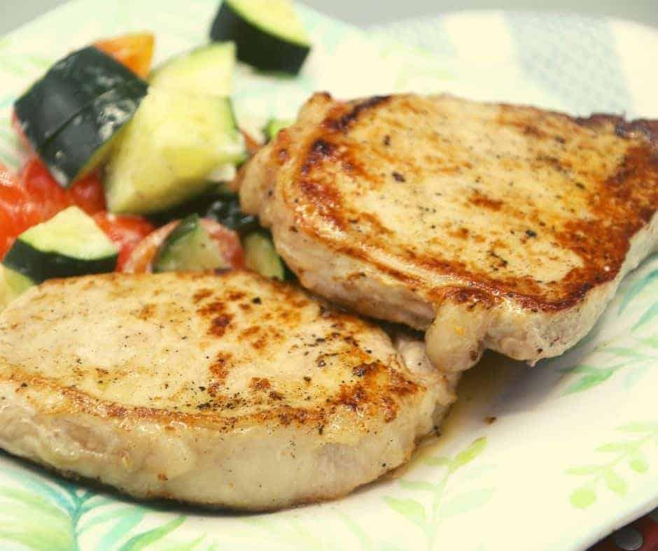 blackstone griddle recipe for pork chops