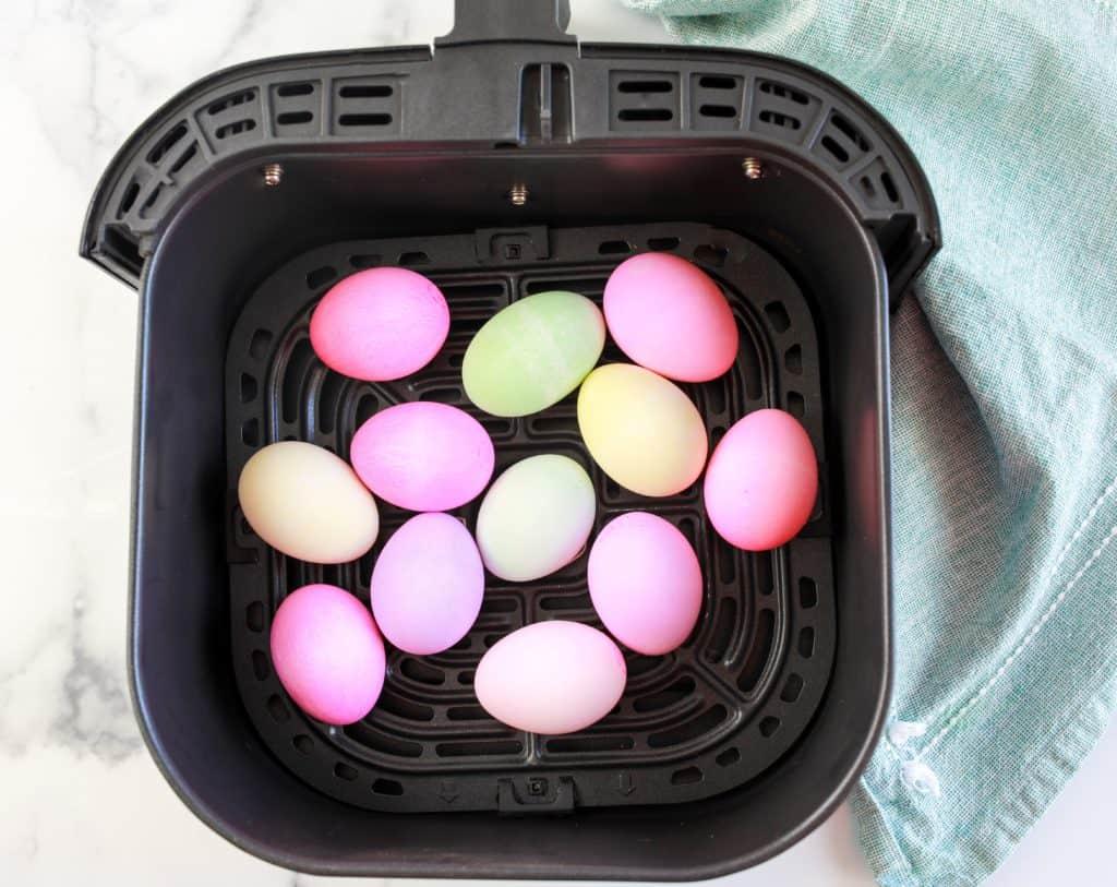 Hard Boiled Air Fryer Easter Eggs