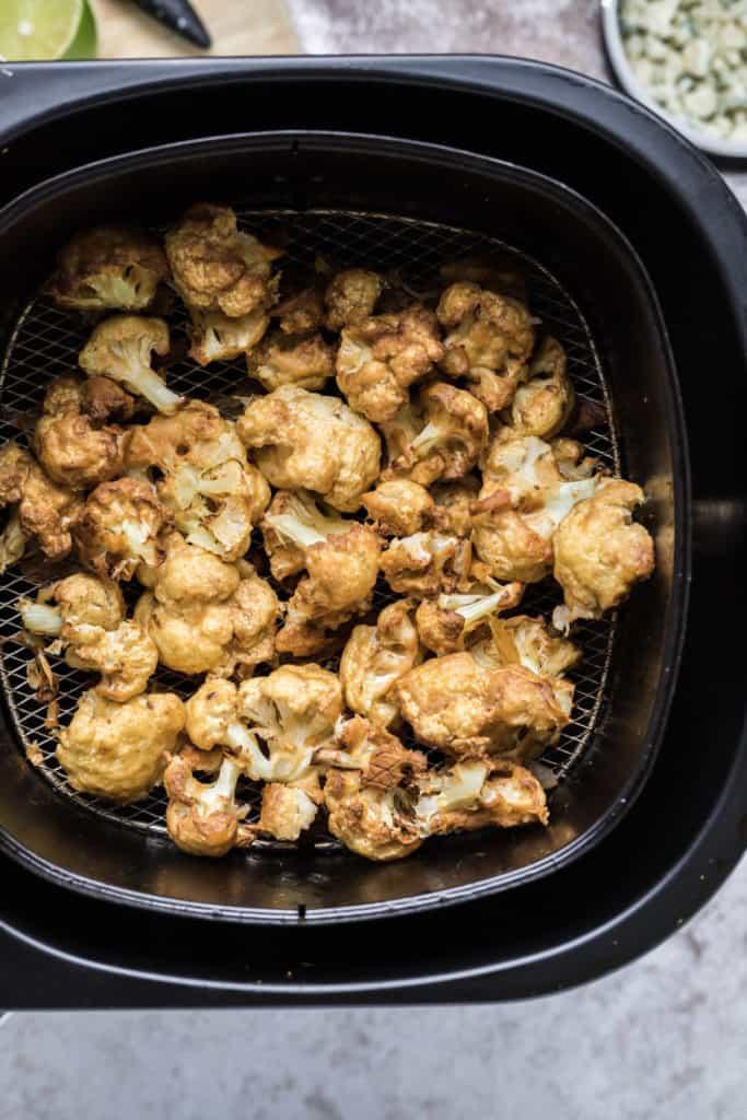 Roasted Cauliflower From Air Fryer