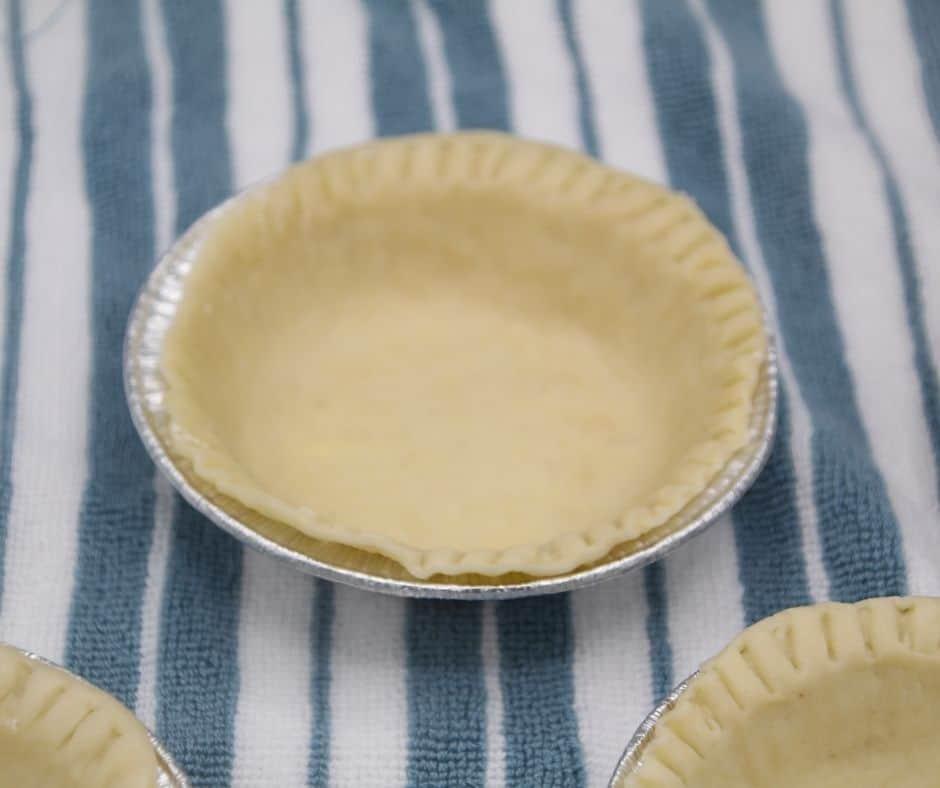 Pie Filling in Prepared Pan #airfryerdesserts