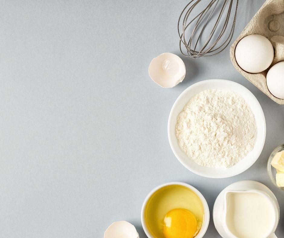 Ingredients For Vanilla Cupcakes
