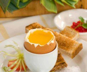 Air Fryer Soft Boiled Eggs