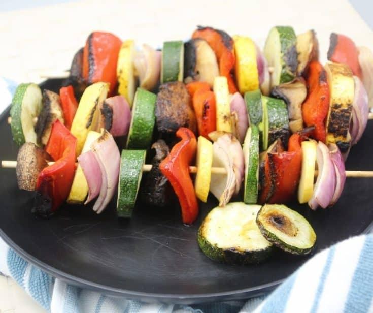 Blackstone Griddle Vegetable Skewers