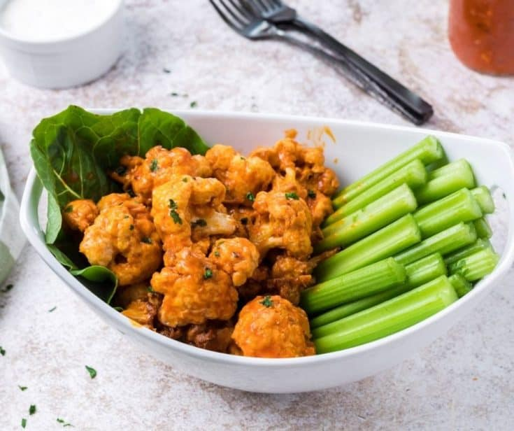 Air Fryer The Best Buffalo Cauliflower Bites