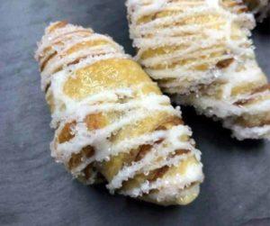 Air Fryer Cinnamon and Sugar Croissants