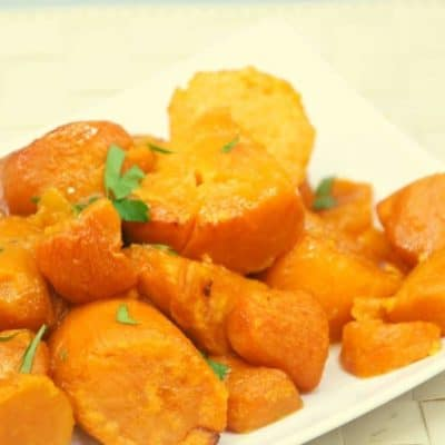 Air Fryer Canned Sweet Potatoes