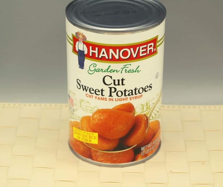 Ingredients In Air Fryer Canned Sweet Potatoes