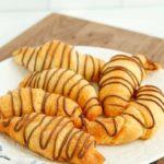 Air Fryer Nutella Croissants