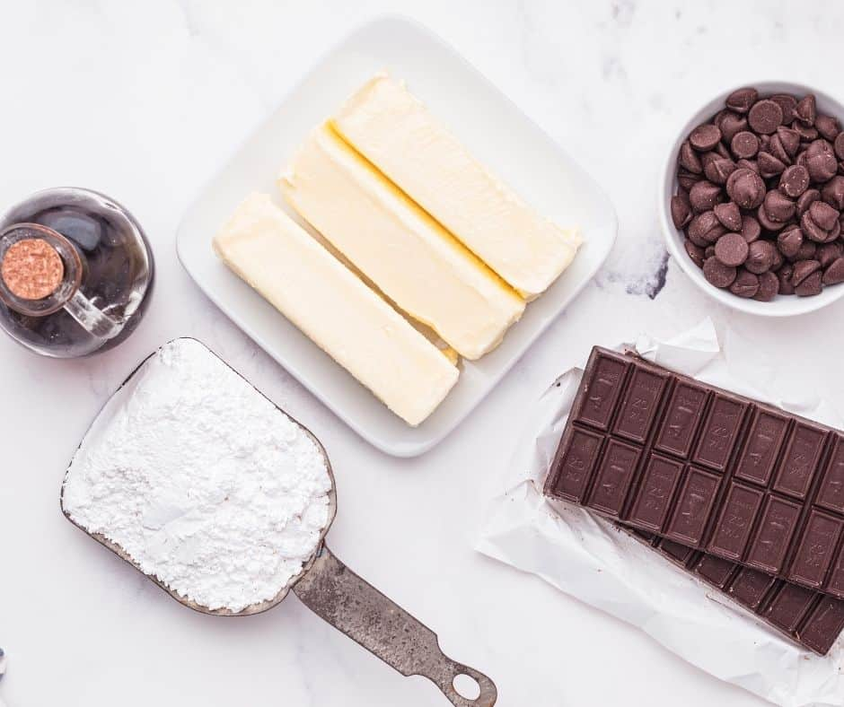 Ingredients In Chocolate Buttercream Frosting