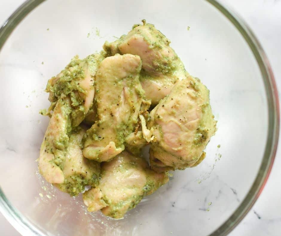 Pesto On Chicken