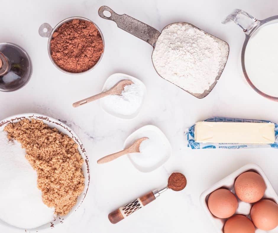 Ingredients In Air Fryer Chocolate Cupcakes