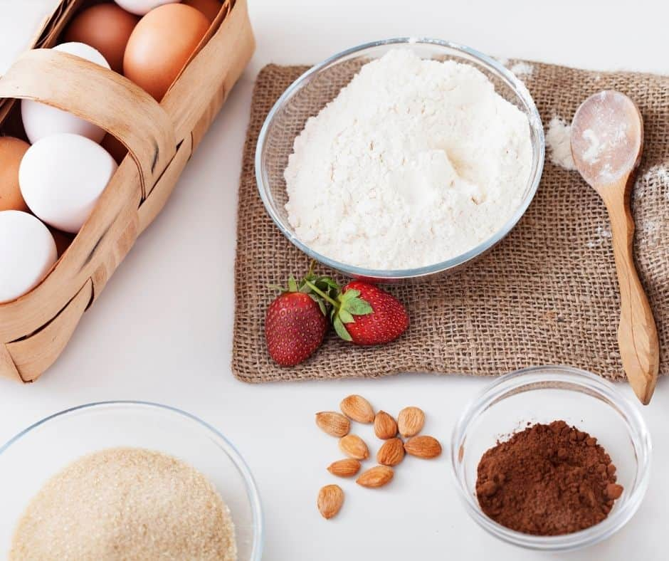 Ingredients Needed For Air Fryer Chocolate Pound Cake