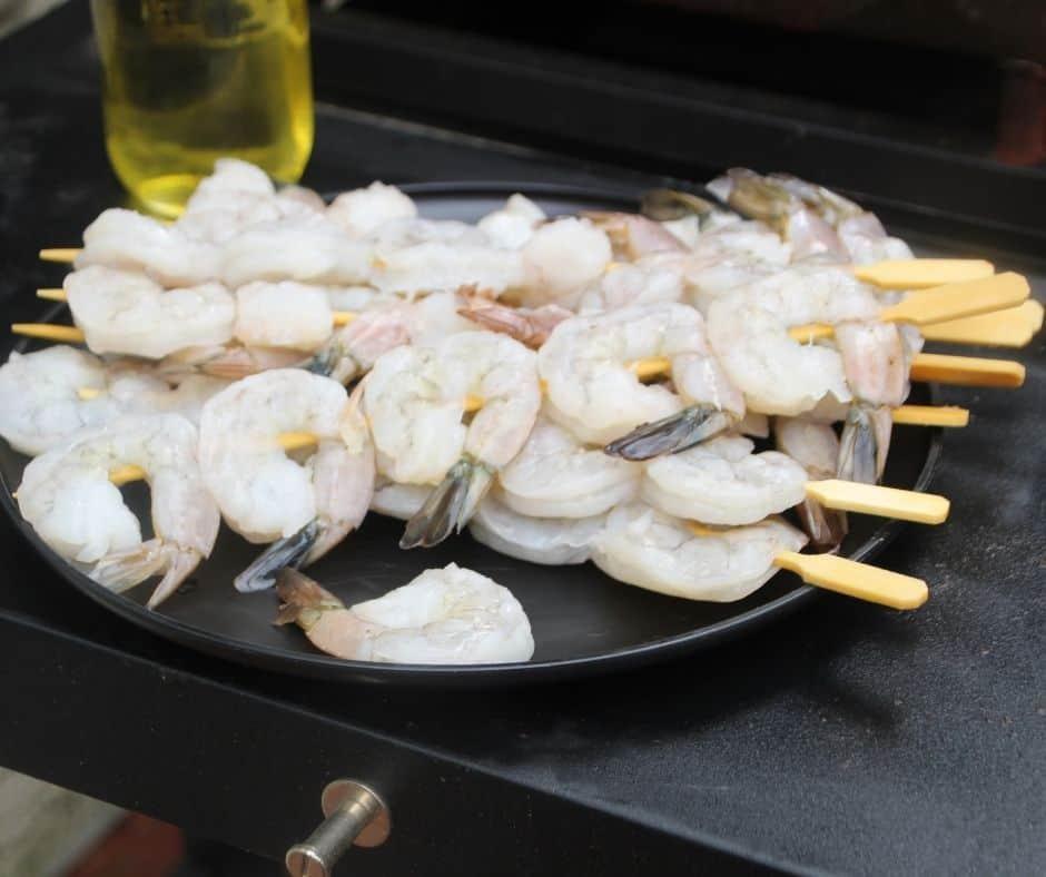 How To Make Shrimp on the Blackstone Griddle