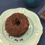 Air Fryer Chocolate Glazed Donuts