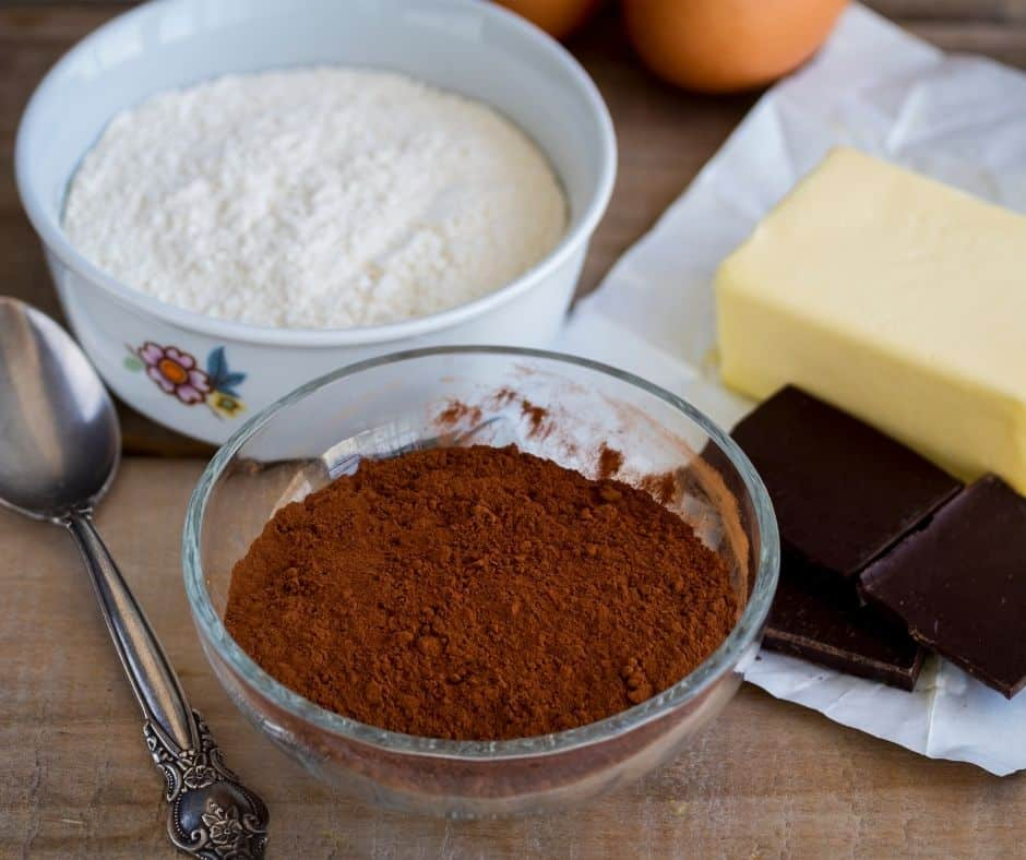 Ingredients Needed For Air Fryer Chocolate Glazed Donuts