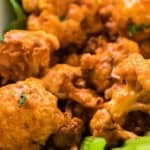 Air Fryer The Best Buffalo Cauliflower Bites