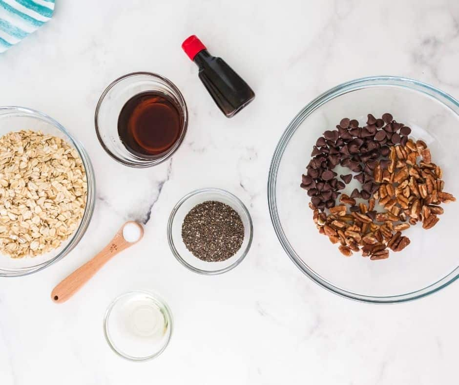 Ingredients Needed For Air Fryer Chocolate Chip Granola