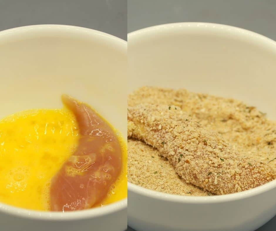 Bread Your Chicken, Eggs Wash and panko