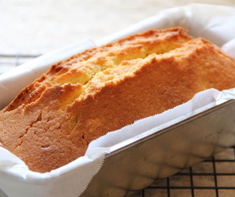 Air Fryer Easy Pound Cake